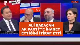 Ali Babacan AK Parti'ye ihanetini itiraf etti