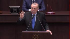 Cumhurbaşkanı Erdoğan grupta konuşuyor