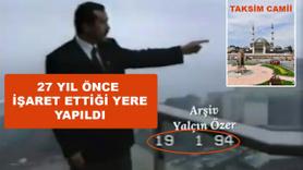 Erdoğan'ın 27 yıl önceki Taksim Camii röportajı