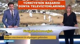 Dünya televizyonları Türkiye'nin başarısını verdi