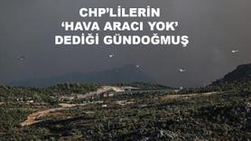 CHP'lilerin hava aracı yok dediği Gündoğmuş
