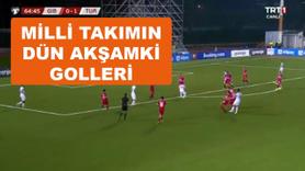 Türkiye Cebelitarık maçının golleri