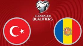 Türkiye - Andorra maçı canlı izle