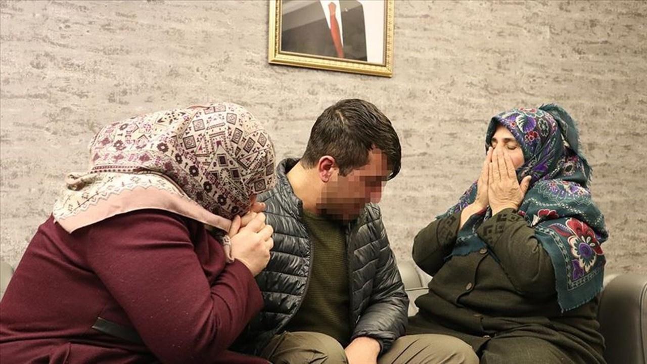 Babaanne, PKK'nın kaçırdığı torununa kavuştu