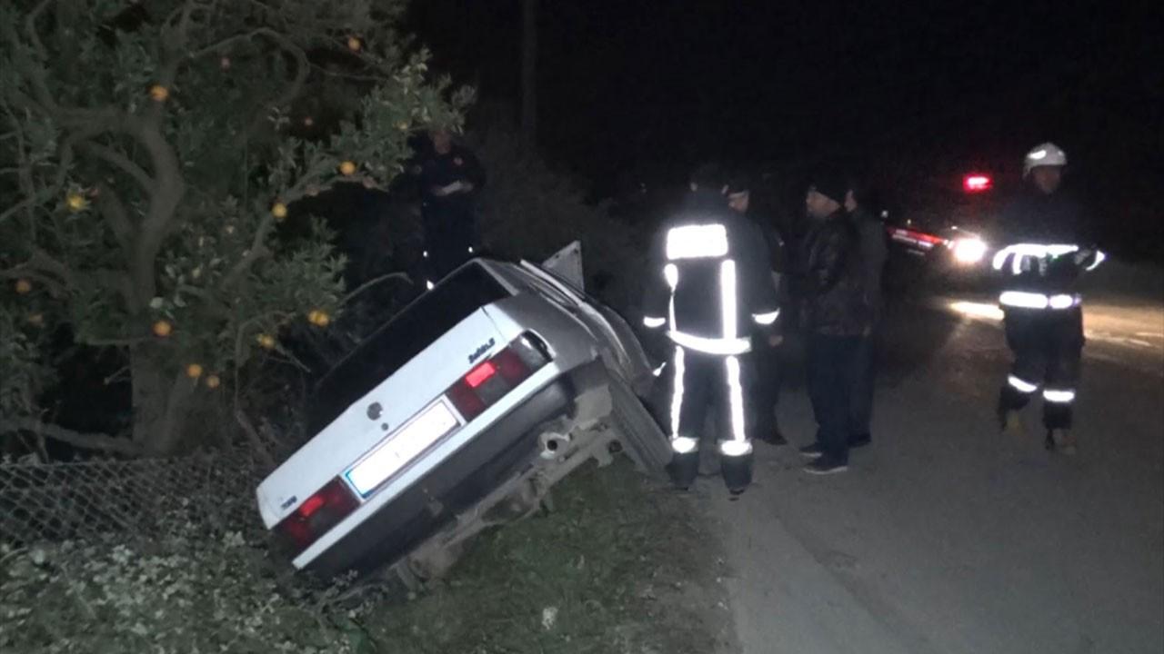 Antalya Kumluca'da kaza, 1 ölü
