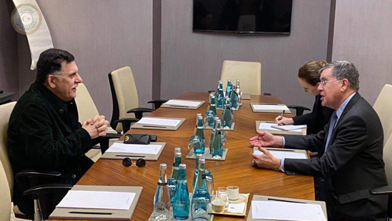 UMH Başkanı Serrac ABD elçisiyle görüştü