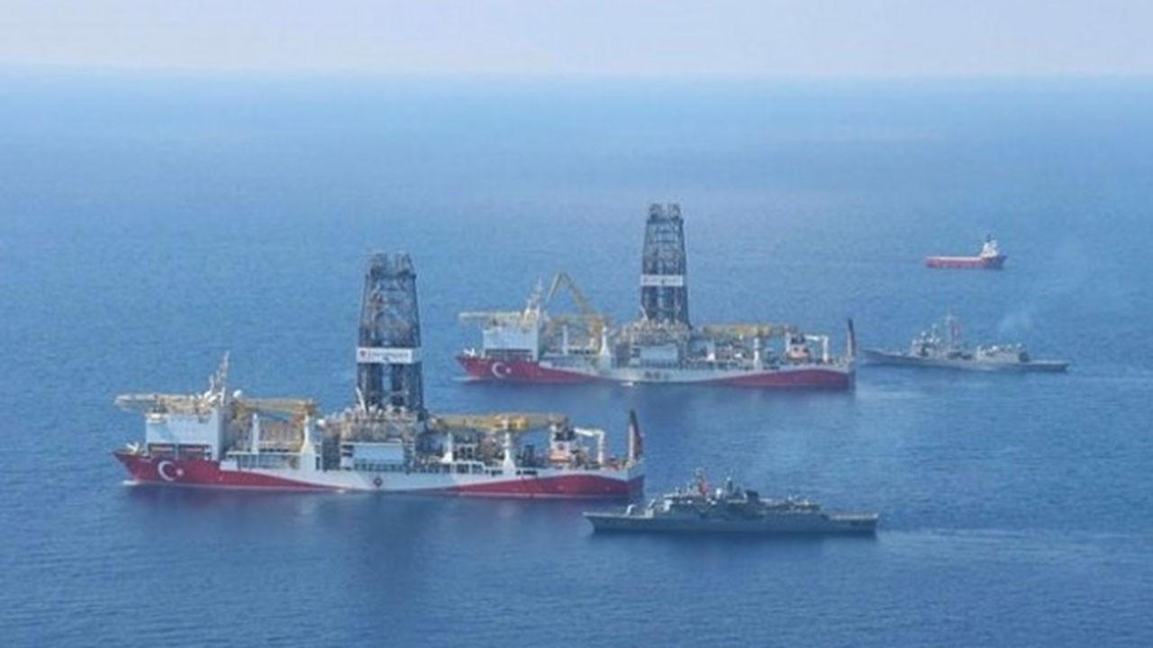 Yavuz Gemisi İsrail sınırında sondaja başladı