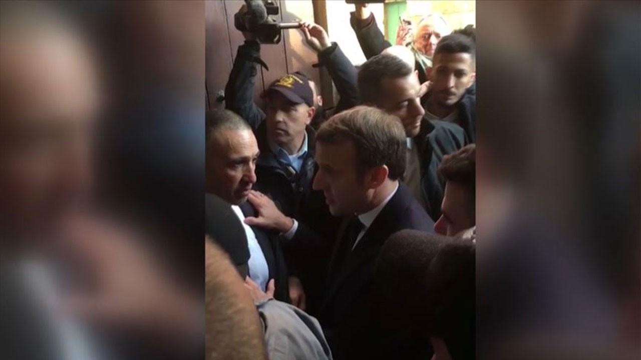Fransa Cumhurbaşkanı, İsrail polisini azarladı