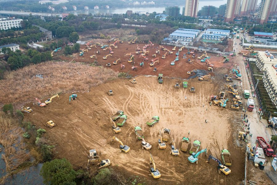 Çin koronavirüs için özel hastane yapıyor, 10 günde inşa edilecek - Sayfa 4