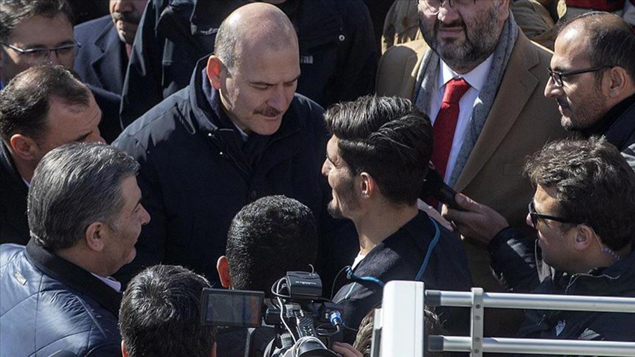 İki kişi kurtaran 'İdlibli Mahmud'a teşekkür
