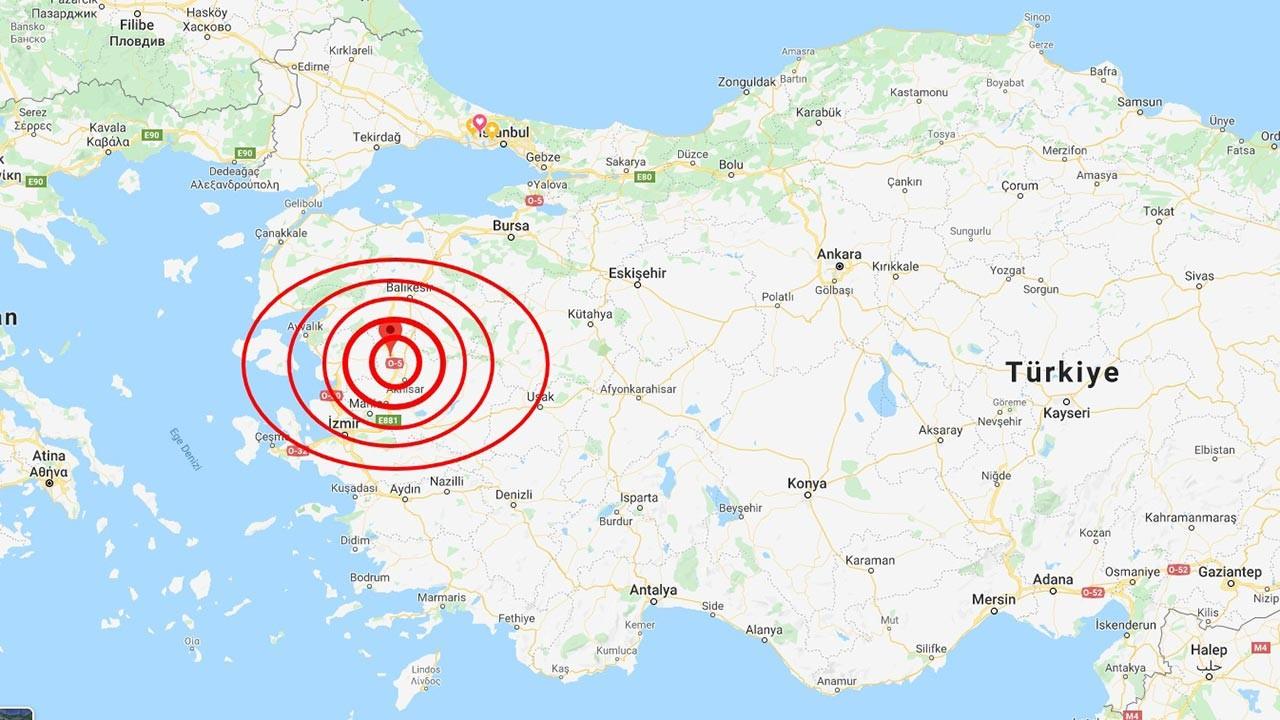 Manisa güne depremle uyandı