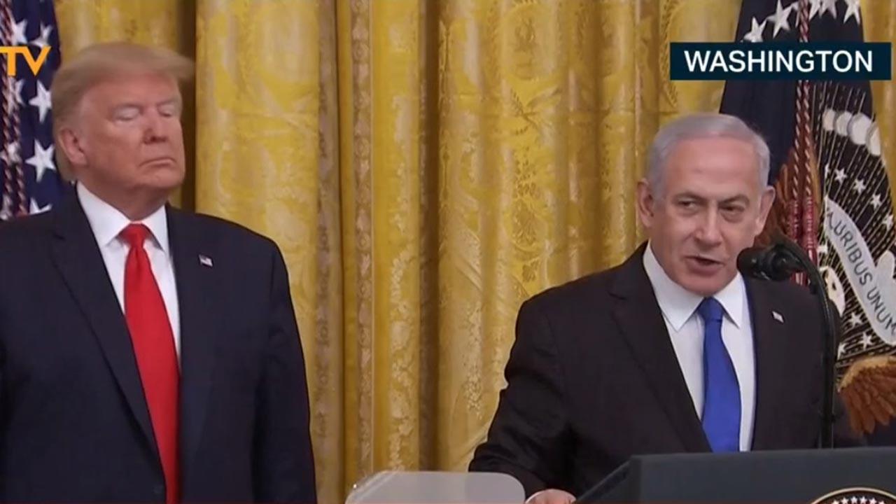 Trump: Kudüs bölünmemiş halde İsrail'in olacak