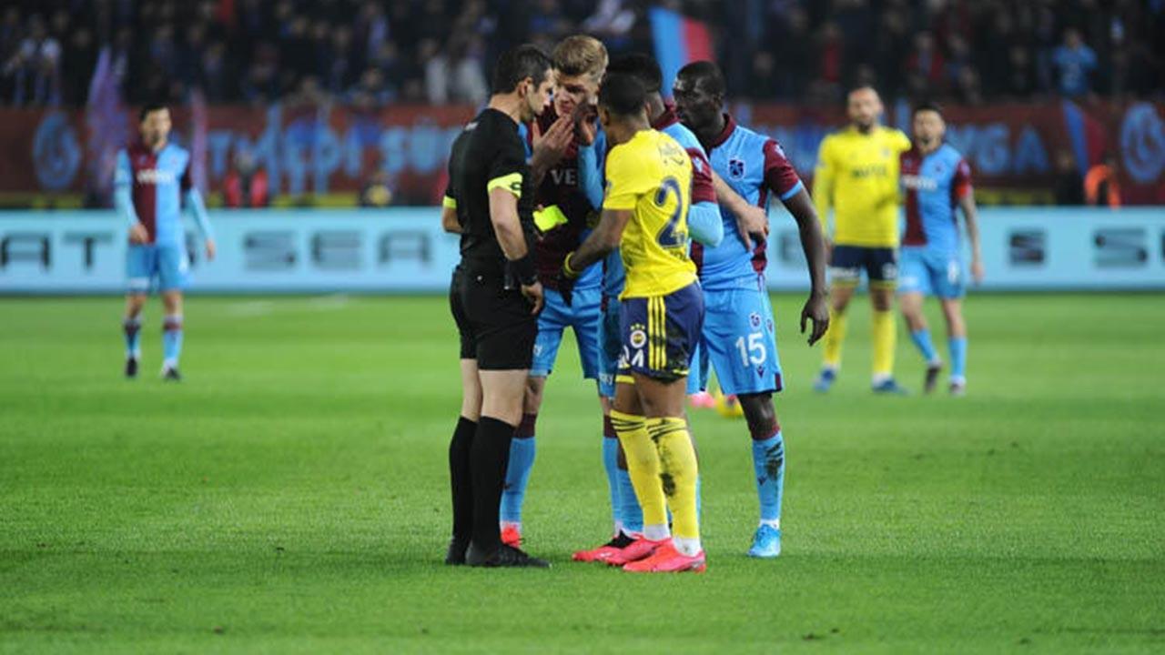 Trabzon'da maç sonrasında ortalık karıştı