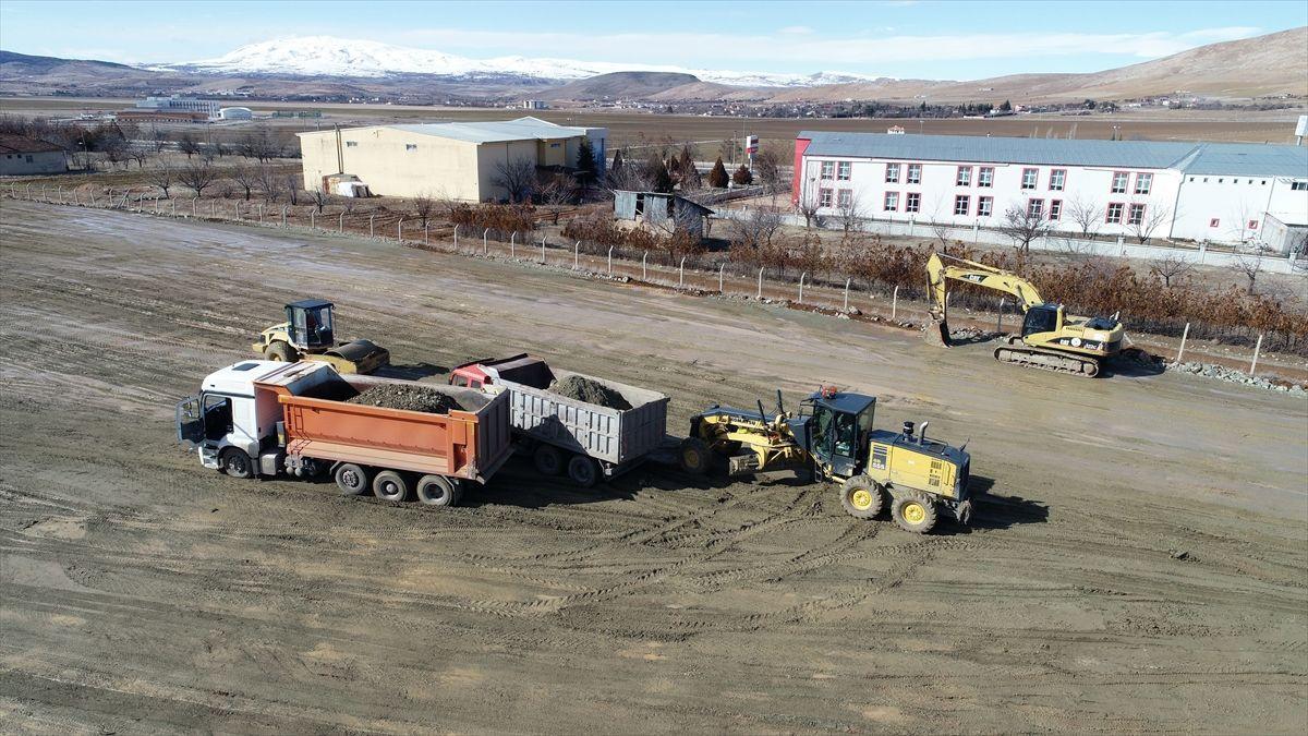 Elazığ'da iş makineleri konteyner kent için harıl harıl çalışıyor - Sayfa 3