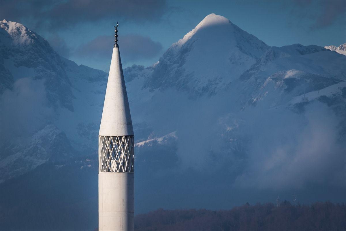 Slovenya'nın minareli tek camisi ibadete açılıyor - Sayfa 1