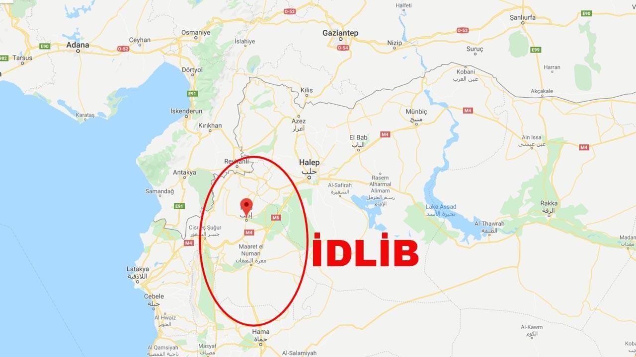 İdlib nerede, nüfusu ne kadar? İdlib Haritada nerede?