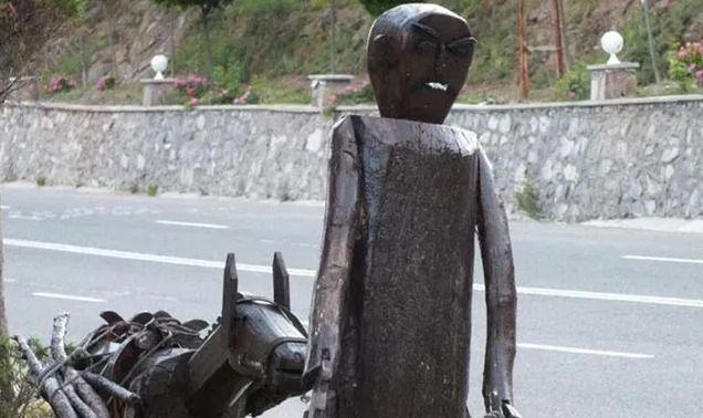 Ankara'da 'Put' diyerek 30 heykeli yıktılar - Sayfa 4