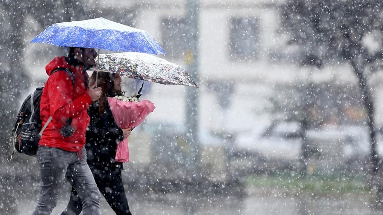 Meteorolojiden 16 il için yoğun kar yağışı uyarısı