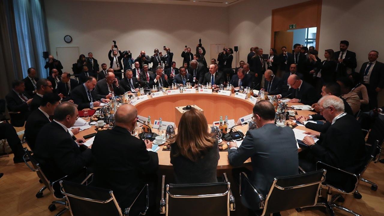 Münih'te kritik Libya toplantısı