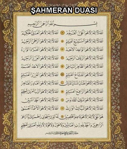 Şahmeran Duası Nedir, ne için okunur