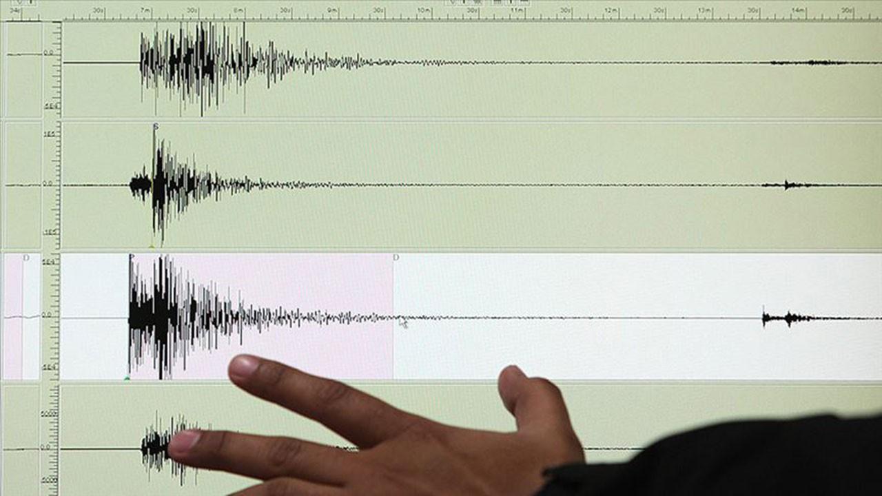 Akdeniz'de 5,9 büyüklüğünde deprem