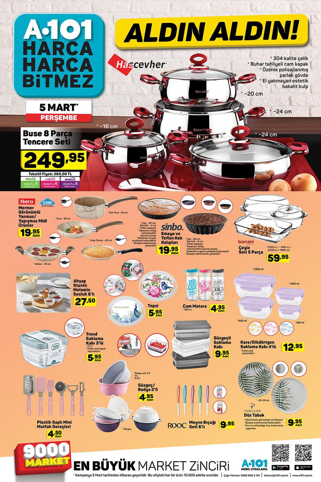 A101 5 Mart 2020 ürün kataloğu - Sayfa 4