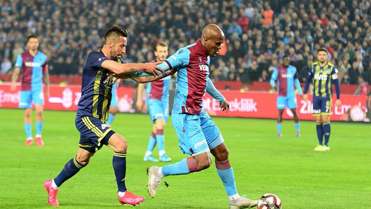 Fenerbahçe bu sezon Trabzon'u yenemedi