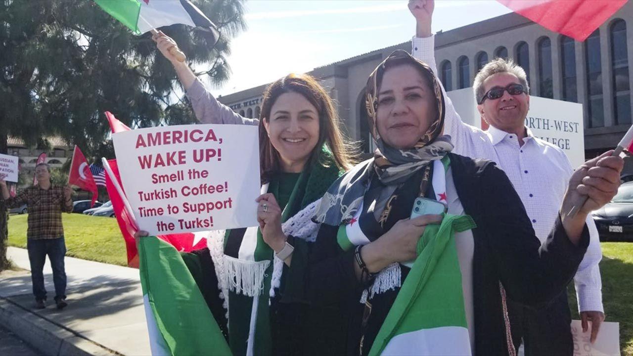 ABD'de Türkiye'ye destek gösterisi - Sayfa 3