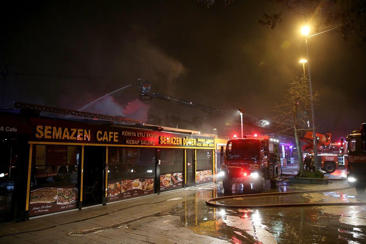 İstanbul'da gece yarısı korkutan yangın - Sayfa 4