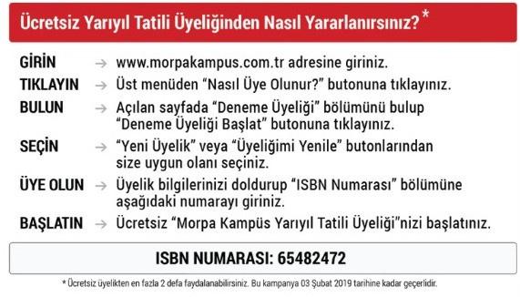 morpa kampüs isbn numarısı