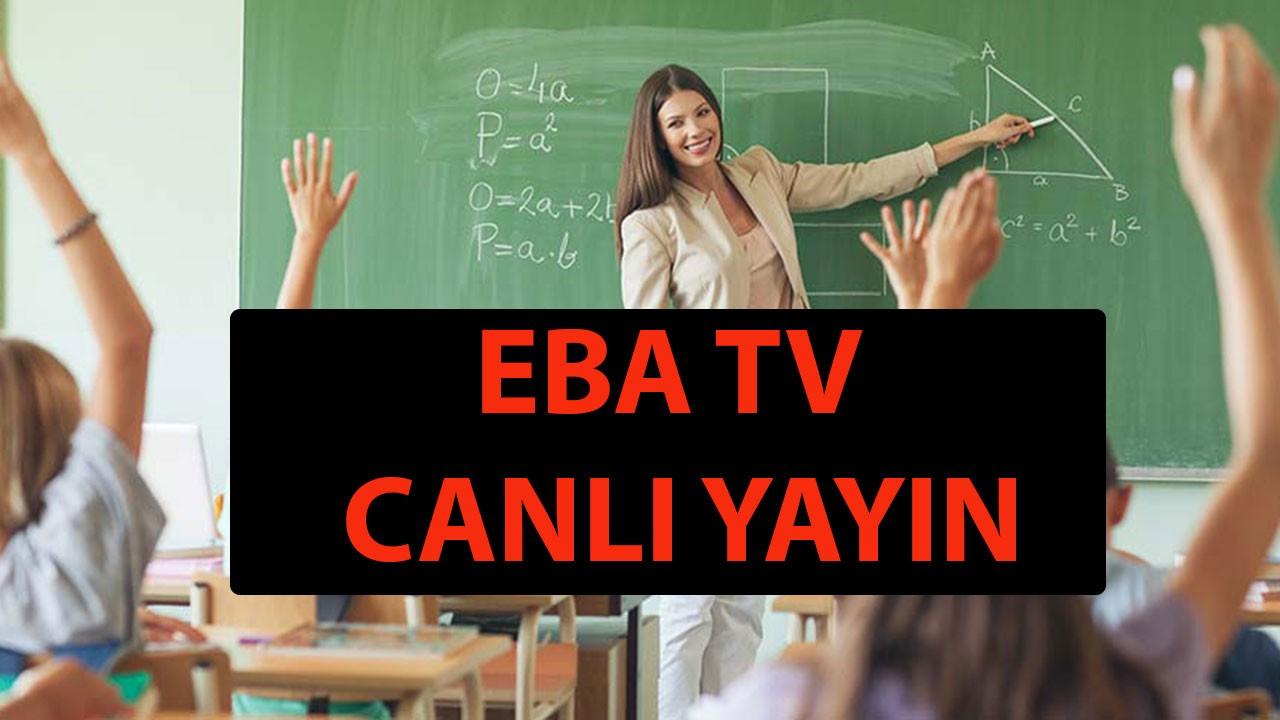 EBA TV frekans ayarları ve kanal numaraları