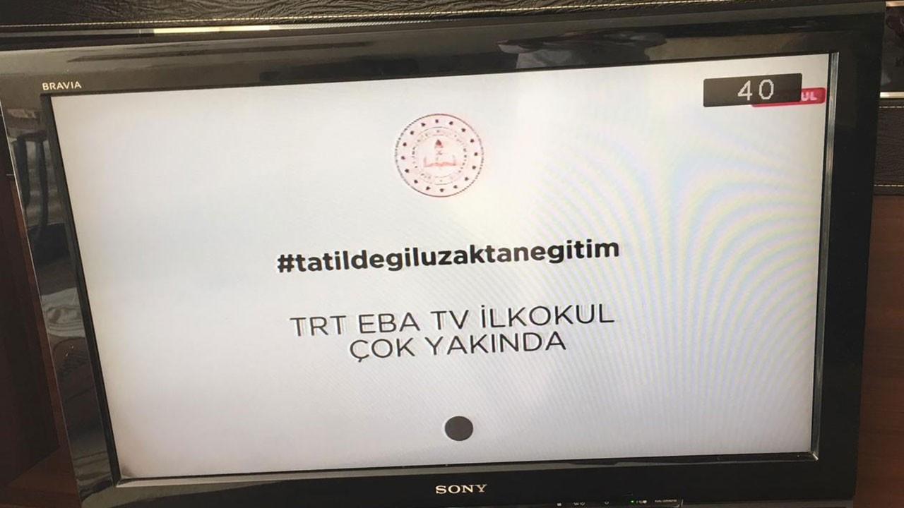 TRT EBA TV canlı yayın kanalları açıldı