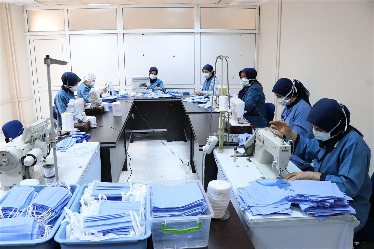 Hastanede maske üretimi başladı - Sayfa 2