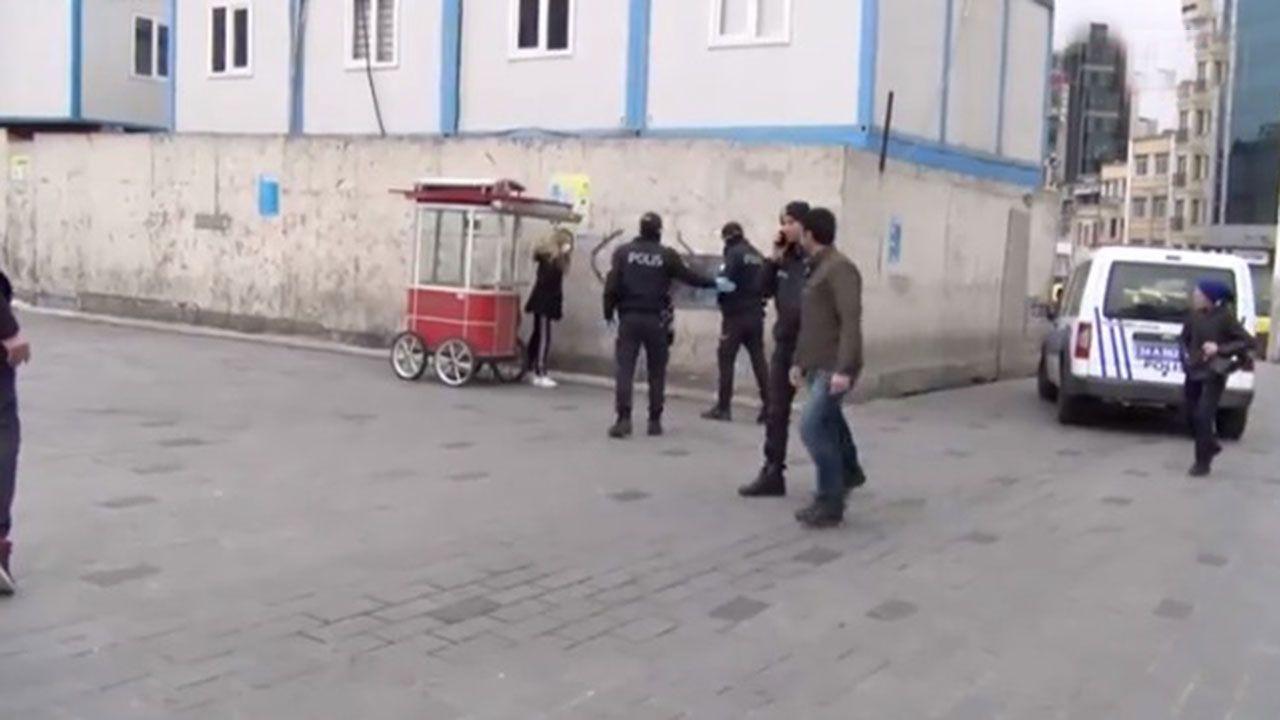 Karantinadan kaçan kadını polis ablukaya aldı - Sayfa 2