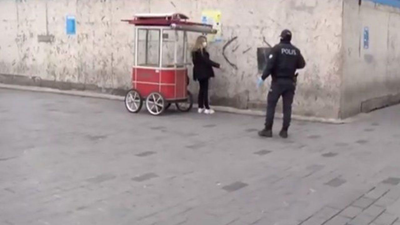 Karantinadan kaçan kadını polis ablukaya aldı - Sayfa 1