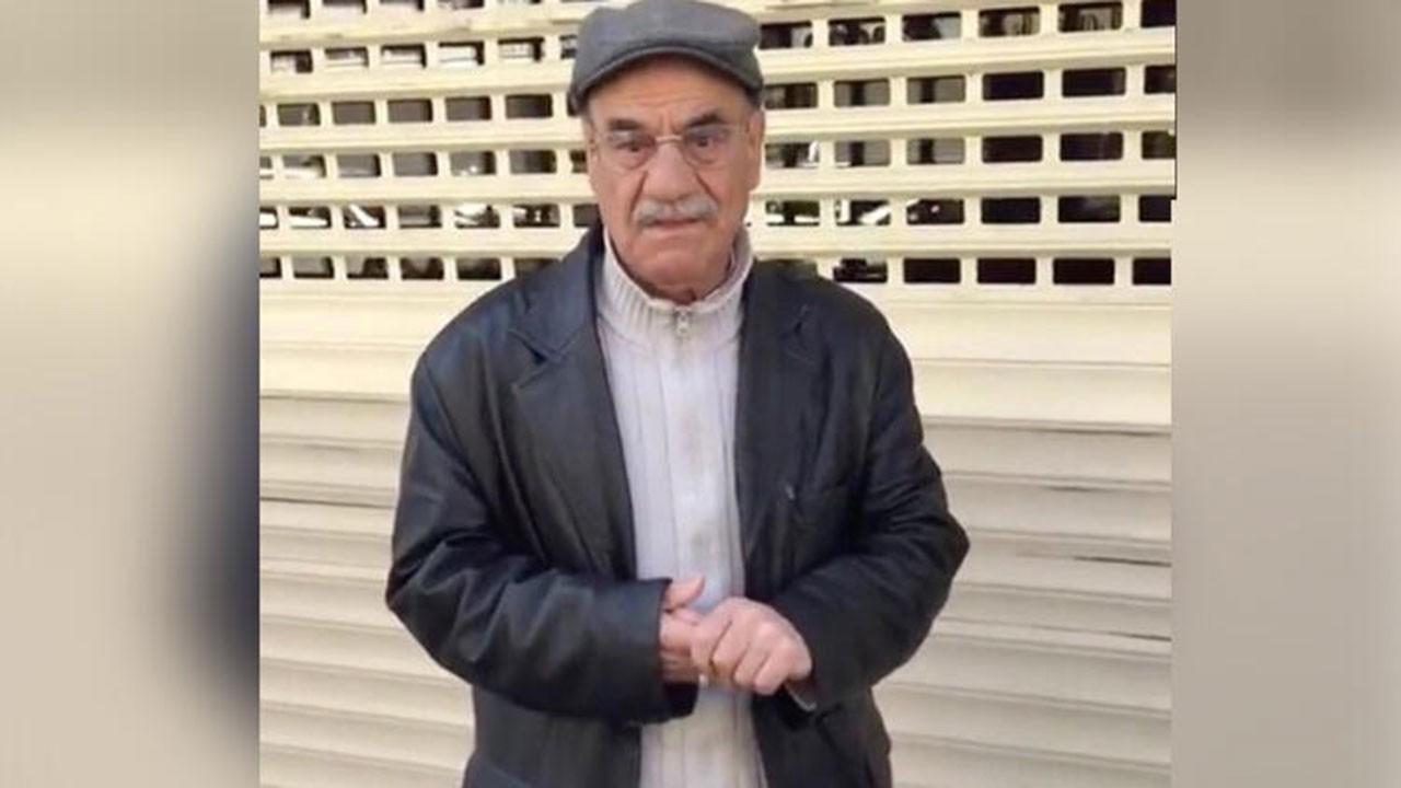 Yaşlı adama büyük terbiyesizlik