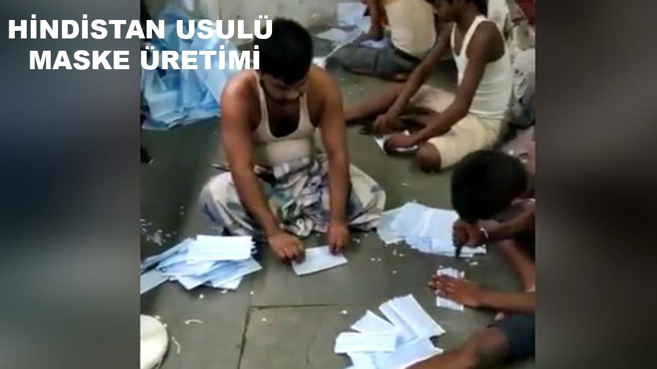 Hindistan'ın virüsle mücadelesi!