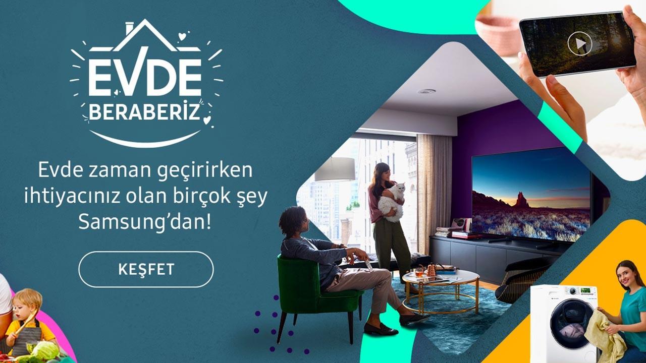 Samsung'tan evde zaman geçirenlere özel kampanya