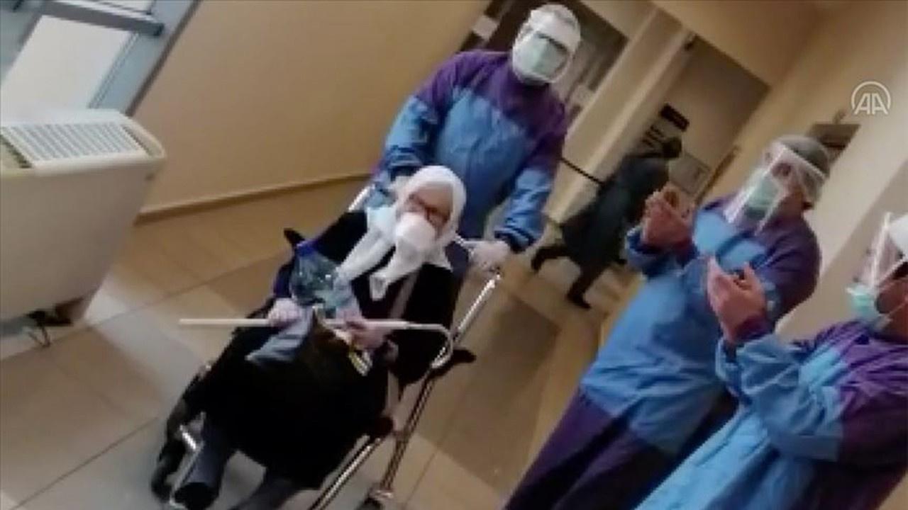 75 yaşındaki nine koronavirüsü yendi