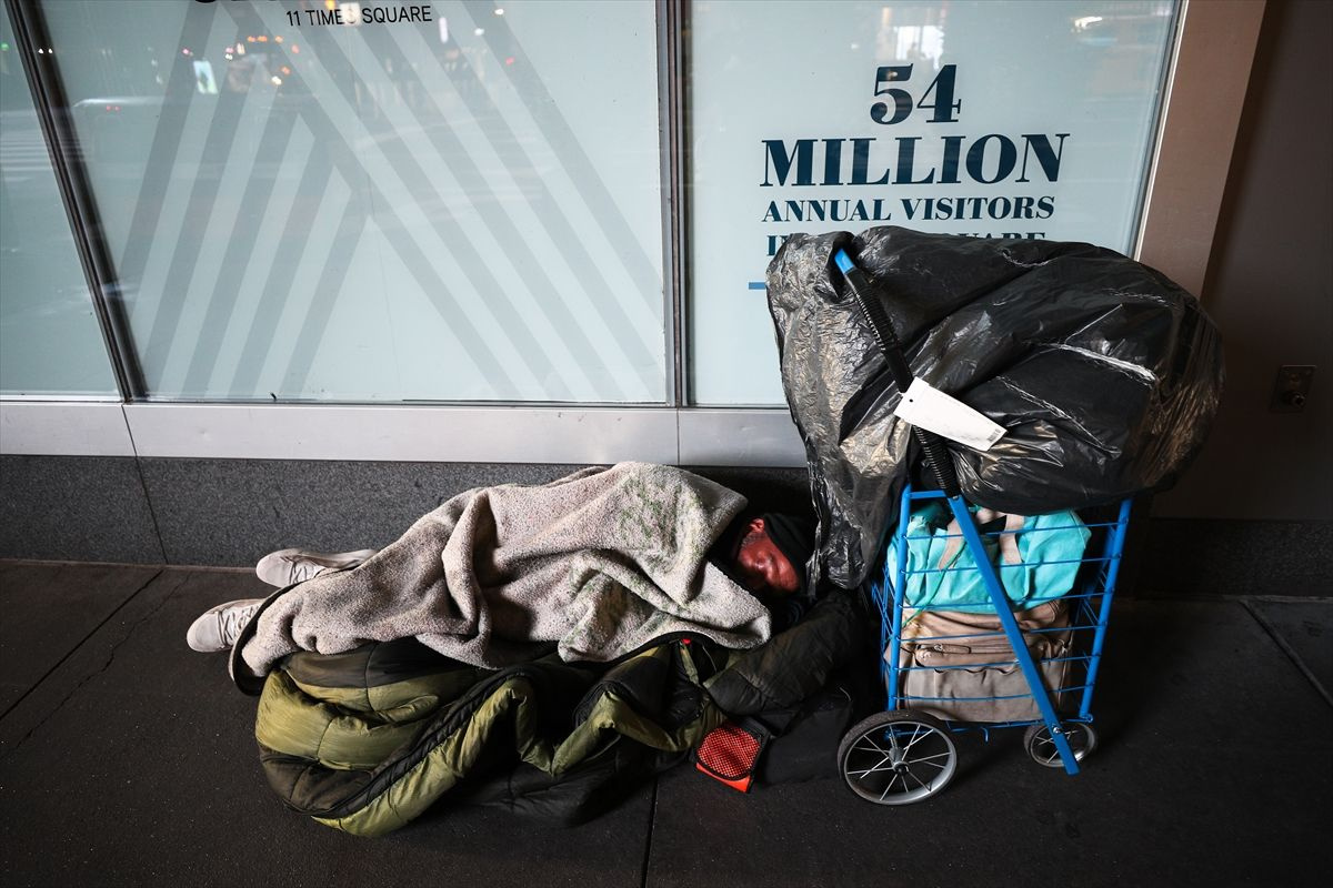 New York eyaletinde 70 bin evsizin durumu korkutuyor - Sayfa 1