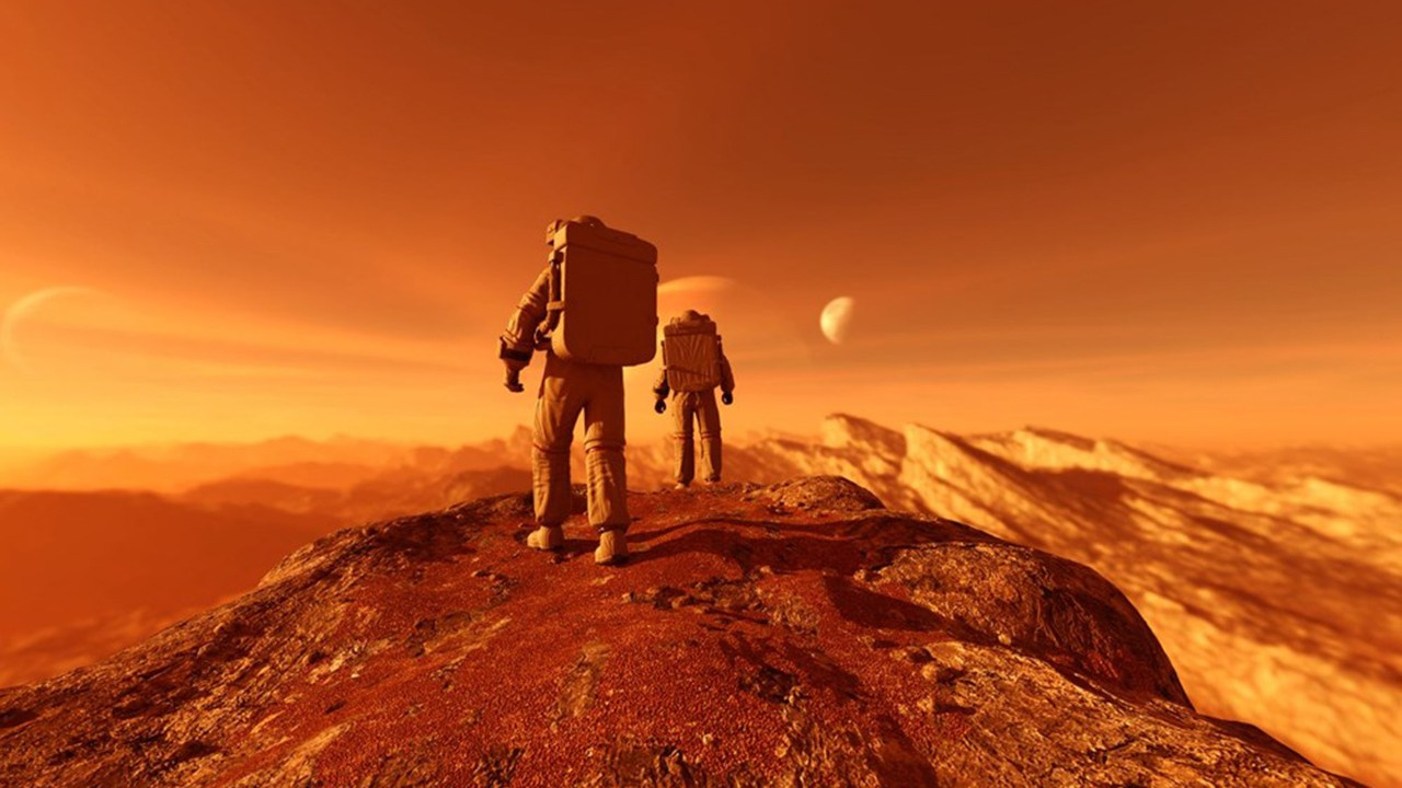 Evinizden Mars'ı gezin