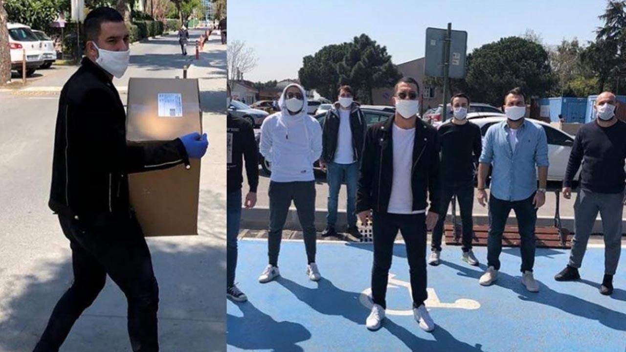 Arda 100 bin ücretsiz maske dağıtmaya başladı