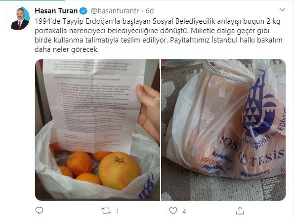 İBB yardım isteyen vatandaşa bir poşet portakal gönderdi - Sayfa 4