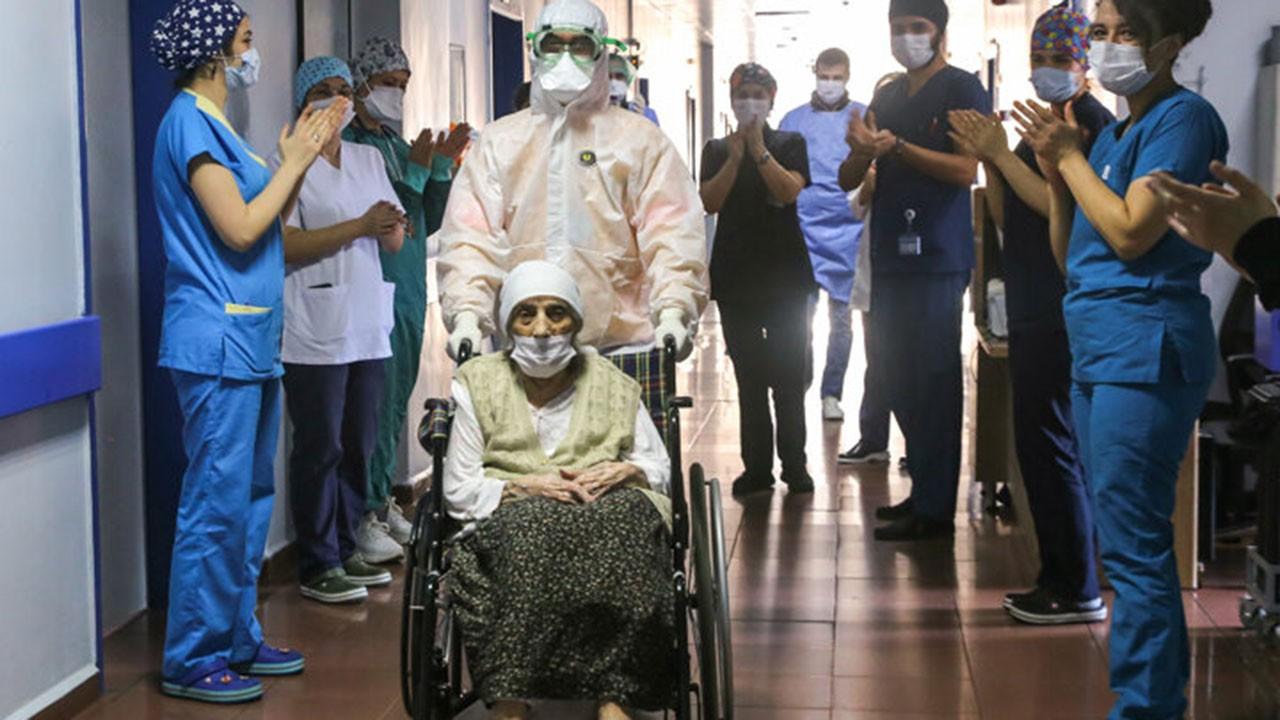 107 yaşında koronavirüsü yendi