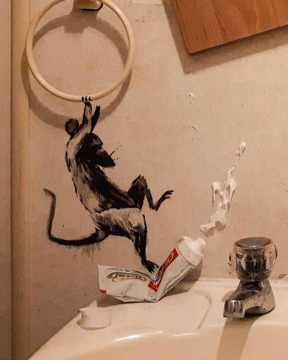 Sokak sanatçısı Banksy evde kalırsa! - Sayfa 3