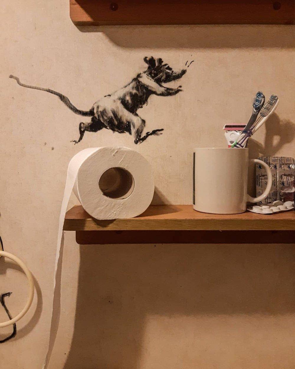 Sokak sanatçısı Banksy evde kalırsa! - Sayfa 4