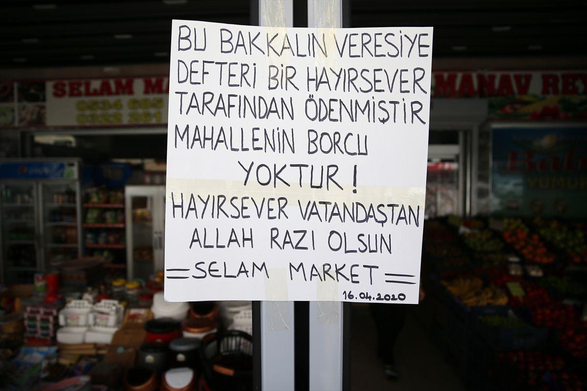 Adana'da gizli hayırsever bütün mahallenin market borcunu kapattı - Sayfa 2