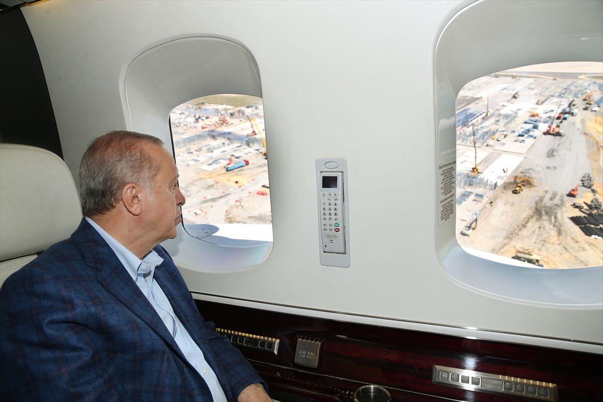 Cumhurbaşkanı Erdoğan havadan inceledi - Sayfa 4