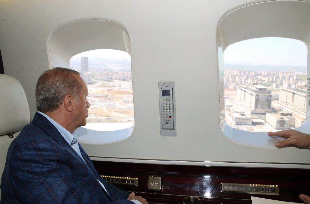 Cumhurbaşkanı Erdoğan havadan inceledi - Sayfa 1