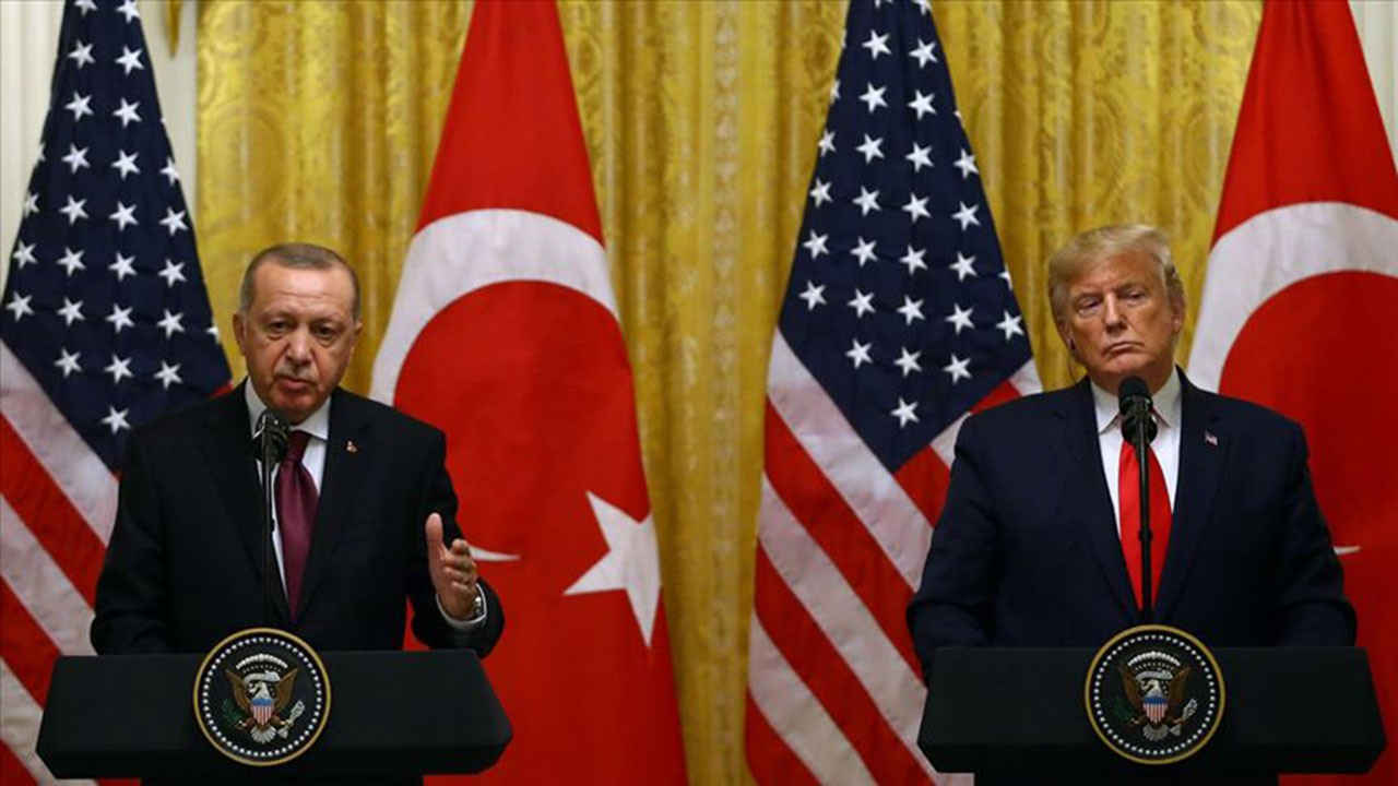 Erdoğan ve Trump'tan 20 günde ikinci görüşme